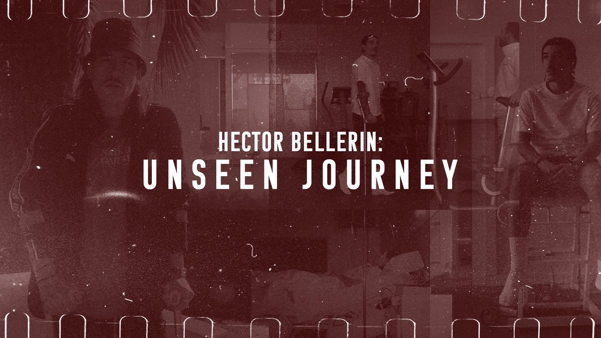 .@HectorBellerin's documentary is so very intimate. He took me on a personal journey through his ACL injury, rehab & eventual comeback. Samthandi 🥺🥺  #UnseenJourney