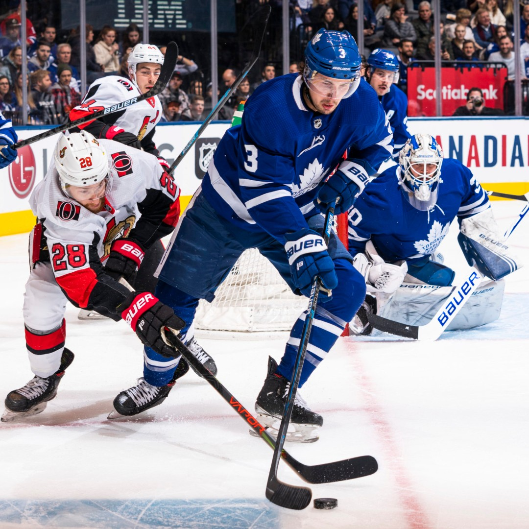 The Ottawa Senators host the Toronto Maple Leafs at 7PM(et) from Canadian Tire Centre. Ottawa finished 9-9-5 in division action and 18-13-6 at home in the 2019-20 season. Toronto finished 36-25-9 overall and 12-8-2 in division action during the 2019-20 season. @sbgglobal