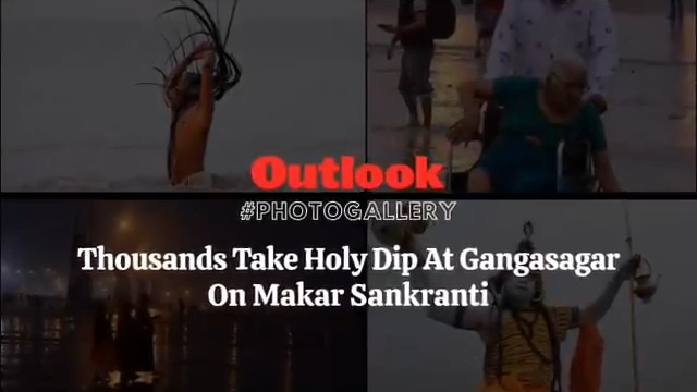 PHOTO GALLERY | The attraction of Gangasagar on #Makarsankranti makes one forget all obstacles in life. #MakarSankranti2021 #festival