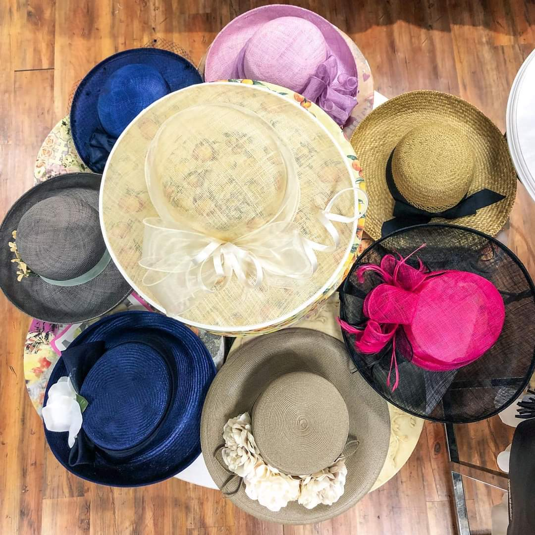👒 #NationalHatDay! 👒 We will be hosting a Facebook Live shopping event this morning at 9:30 featuring a selection of beautiful derby hats! Plus: Wear your favorite hat to the store today & receive 15% off one regular priced item purchased (some exclusions apply - Boutique only)