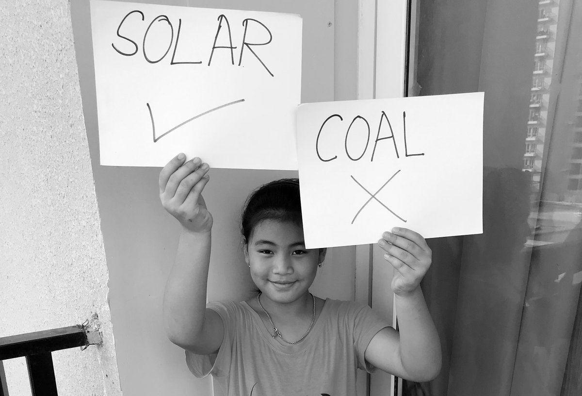 Solving climate crisis is not a politics. It's the moral responsibility of our leaders. #ClimateStrike https://t.co/uJORzNQFwa