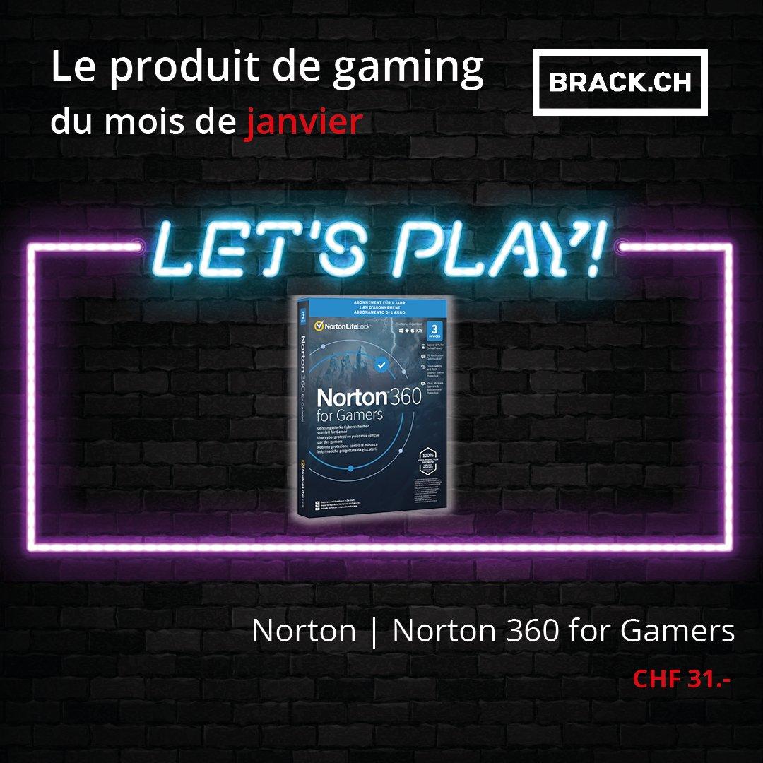 Norton 360 for Gamers, une protection avancée à plusieurs niveaux pour protéger votre PC des cybermenaces de type malware, DDoS, doxxing, swatting, prise de contrôle de la webcam et plus.  #gaming #produitdumois #norton  https://t.co/2Gc7DyEwk1 https://t.co/YXcvzWaVAS