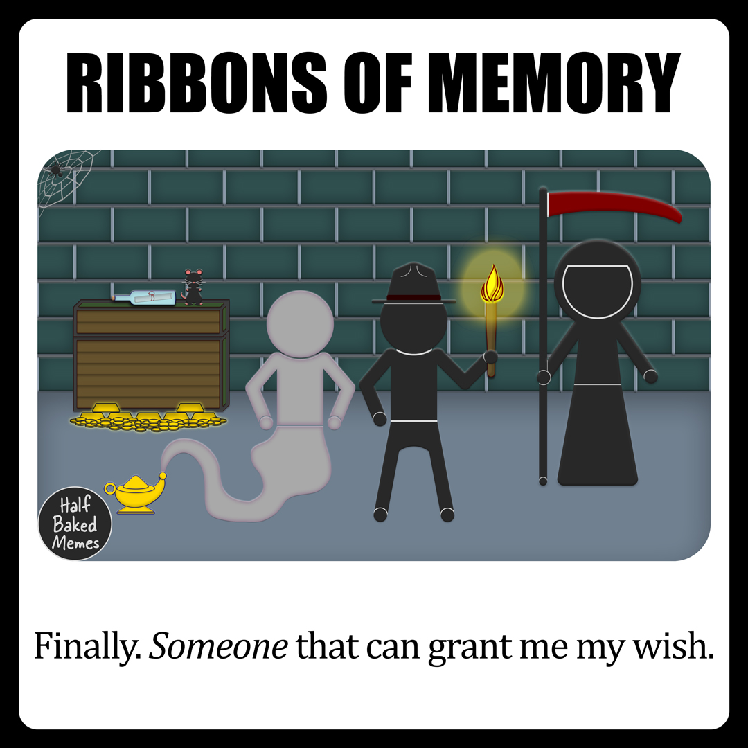 It is only the 15th. Of January. Every corner of the sky is filled with storm clouds. And morning glow is long past due. It's no longer a matter IF I can make it to February. Honestly, it's why would I want to? #FridayThoughts #darkhumor #darkmemes #INTP #GrimReaper