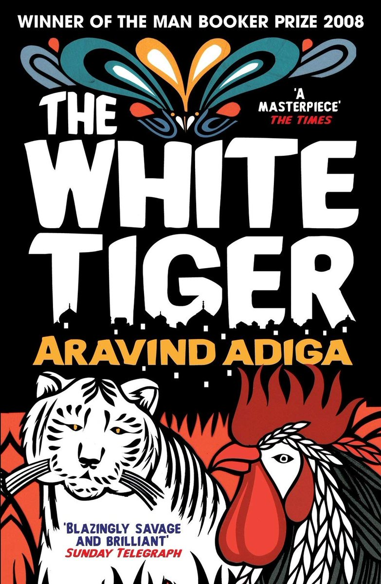 The film adaption of Aravind Adiga's Booker Prize-winning THE WHITE TIGER releases on Netflix soon; click here to reserve this extraordinary novel 📚 #TheWhiteTiger #thewhitetigernetflix