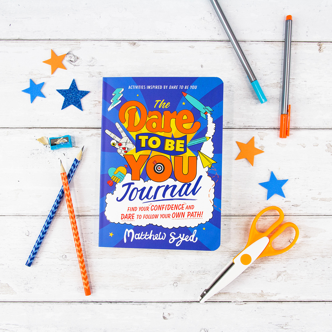 The Dare to Be You Journal from @matthewsyed is an interactive toolkit packed full of activities, lifehacks and challenges inspired by #DareToBeYou.   The perfect way to kick-start 2021 🌟  This year be confidently YOU!   Out now:
