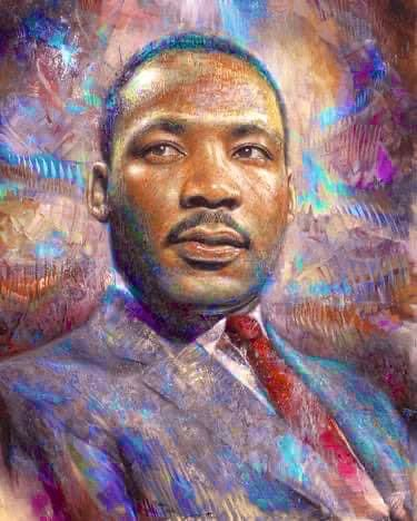 """Hatred confuses life; love harmonizes it. Hatred darkens life; love illuminates it.""  –Rev. Dr. Martin Luther King, Jr.  Happy birthday, #MLK. 🖤🖤🖤"