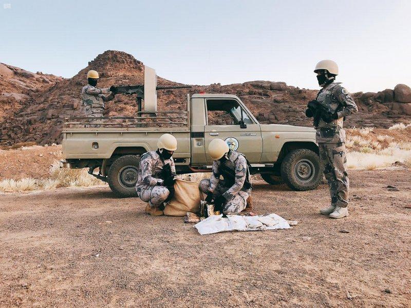 #حرس_الحدود: القبض على 94 متورطًا حاولوا تهريب مواد مخدرة في عدد من مناطق #المملكة.