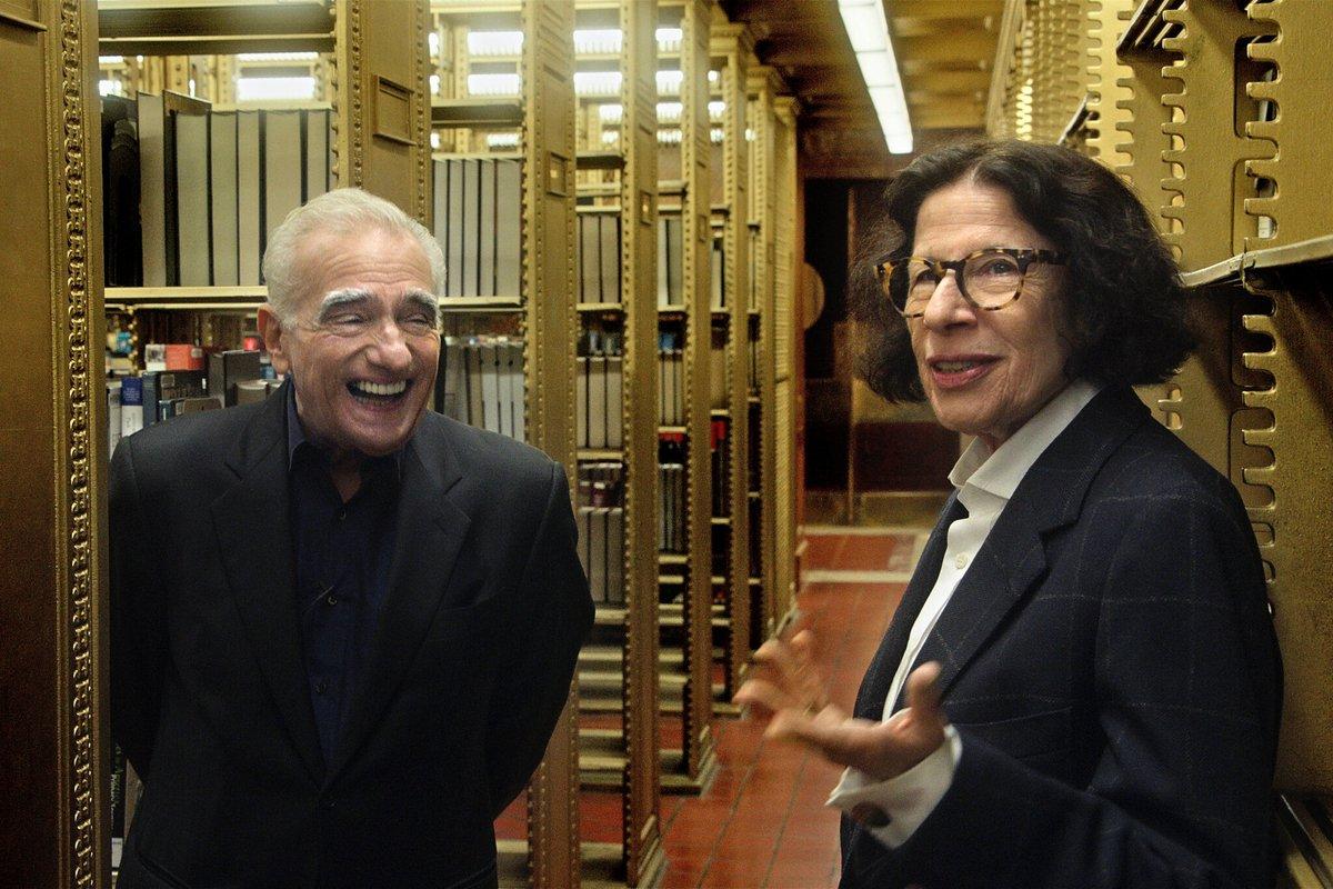 """Ma la meraviglia dello sbellicarsi dal ridere di Martin Scorsese? """"Pretend It's a City"""" (su @netflix) #PretendItsACity #MartinScorsese"""