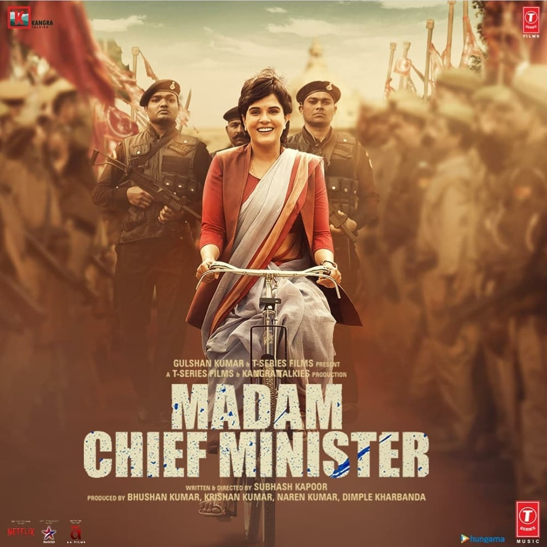 Get ready for the political drama coming to the big screen near you this Jan 22nd! #RichaChadha #MadamChiefMinister #Cinepolis #CinepolisIndia