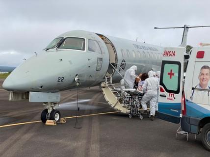 Amazonas começa a transferir mais de 230 pacientes com Covid-19 para outros estados  #G1