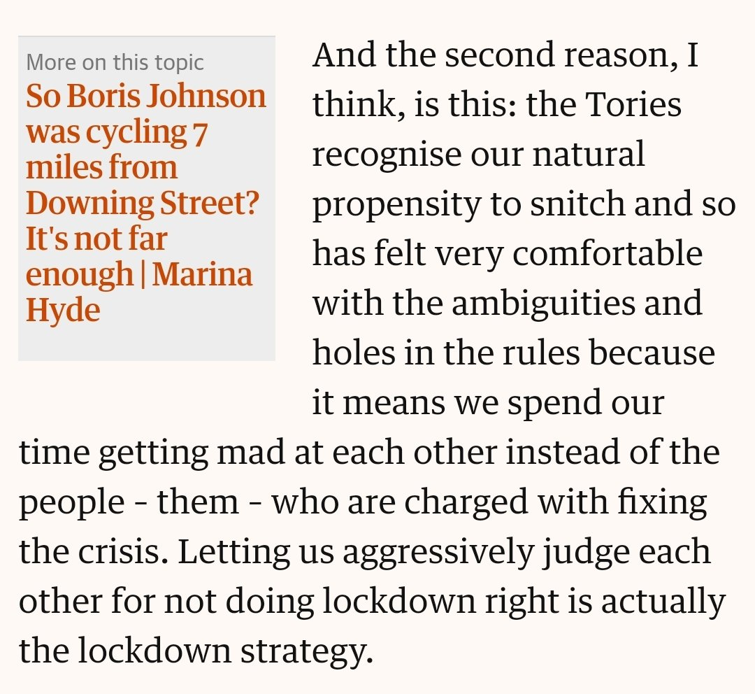 This by @joelgolby is just great. And enraging.   Britain as a nation of snitches