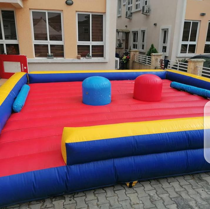 We ensure a proper SETUP CLEAN ND DISINFECTED castle for your events👍👍  Affordable bouncy castles at BCM Castles... Both for Rental and outright purchase  For enquiries Call   08033338280  #MedAssist #Party #Kids #Fun #DStvStepUp #BCM