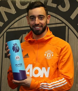 Premier League Player of the Month December 2020