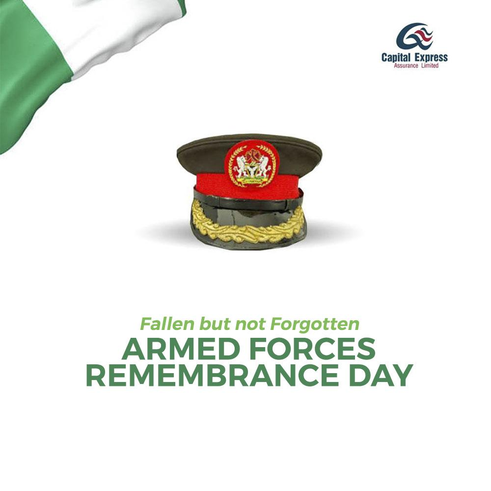 Today, we celebrate our fallen heroes,  men and women of the Armed Forces who have paid the supreme price to safeguard our nations peace, security and stability.  🇳🇬  Happy #ArmedForcesRemembranceDay!  #VeteransDay #ThankASoldier #ThankYouNigerianArmy #ArmyDay2021