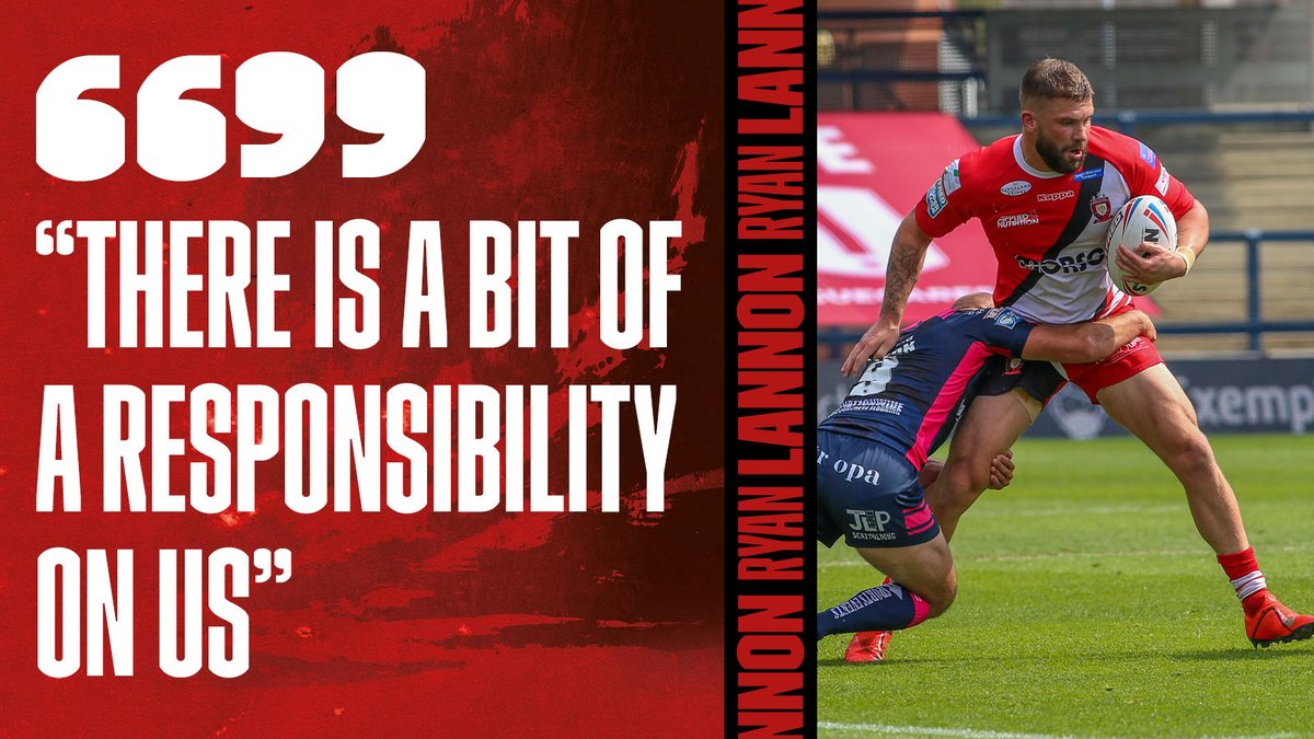 "🗣️ ""A responsibility on us""  ✍️ Following his recent contract extension, @RyeLannon11 has spoken about being an example for young players hoping to wear a Salford shirt!  💪 #TogetherStronger  READ➡️"