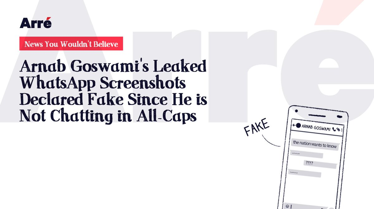 THE NATION WANTS TO KNOW. #ArnabGoswami #NewsYouWouldntBelieve