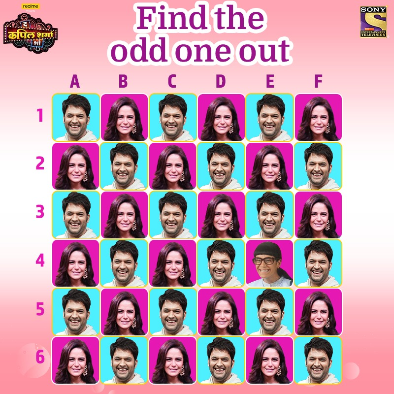 Laughter se bharpoor hoga aapka weekend iss baat mein nahi koi doubt, comments section mein bataiye hume odd one out. Miliye Mona Singh, Gaurav Gera, Sameer Soni, Virendra Saxena se #TheKapilSharmaShow mein aaj raat 9:30 baje.