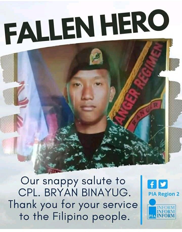 One of the 3 Soldiers Who died When They Went to buy Goods and  Were ambushed by NPA . Rest N Peace Sir 🙏