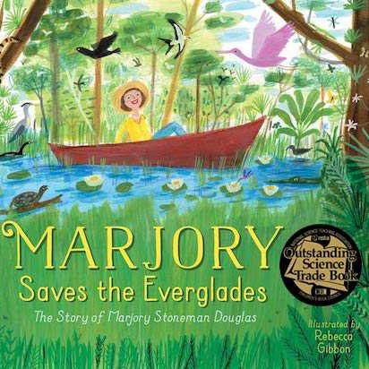 It's a silver medal day for MARJORY SAVES THE EVERGLADES! TY to the California Reading Association for making the story of Marjory Stoneman Douglas, a EUREKA! Nonfiction Children's Honor Book winner.  #kidlit #nonfiction #biography #environment #nature #WomenInSTEM @SimonKIDS