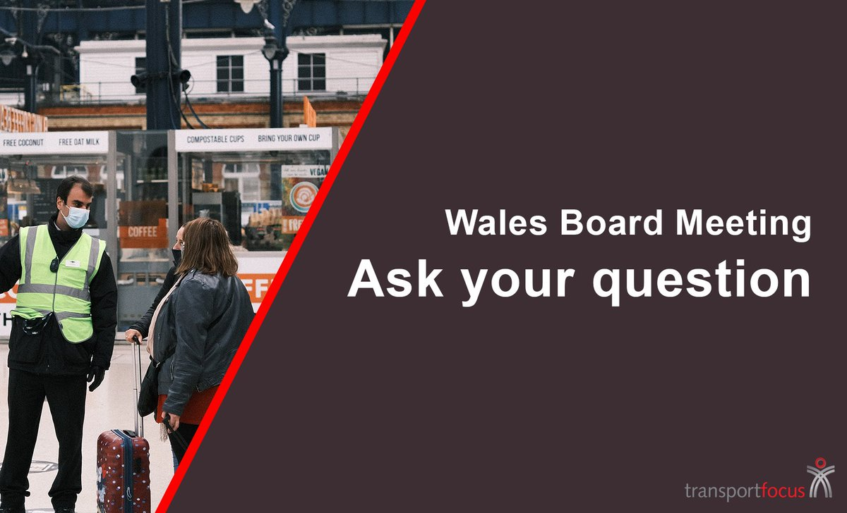 🏴 Have you got a question for @KenSkatesMS or @transport_wales?  ⚡We're focusing our first public meeting of 2021 on Wales.  🚨Register to attend now and submit your question here: