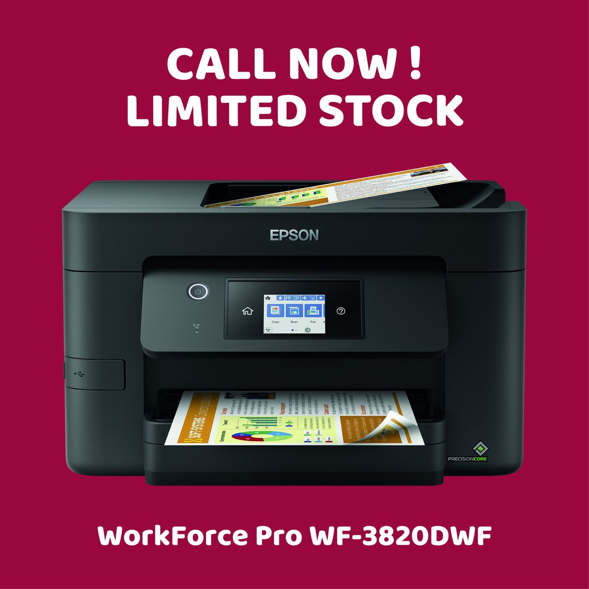 Epson printers now available. Limited stock available ! get in touch with the team today for a quote.  #nuneaton #local #print #printers #warwickshire #offers #epson #wireless #workforce