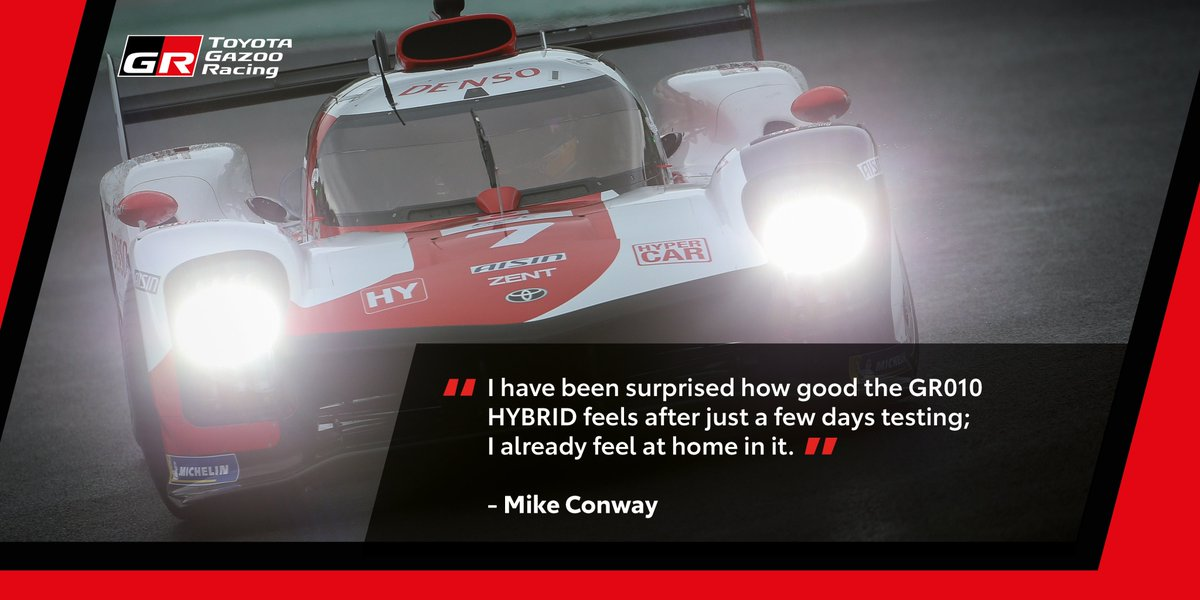 What they said... @Mikeconway26 , @Sebastien_buemi, Murata san and Pascal are hyped about Hypercar  @FIAWEC  @24hoursoflemans #TOYOTAGAZOORacing #PushingTheLimitsForBetter