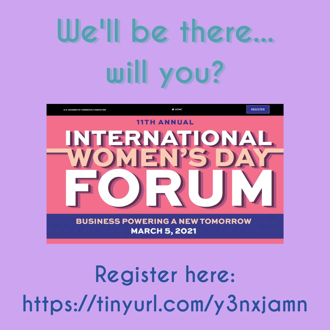 We'll be listening in on the International Women's Day Forum. Will you? #internationalwomensday