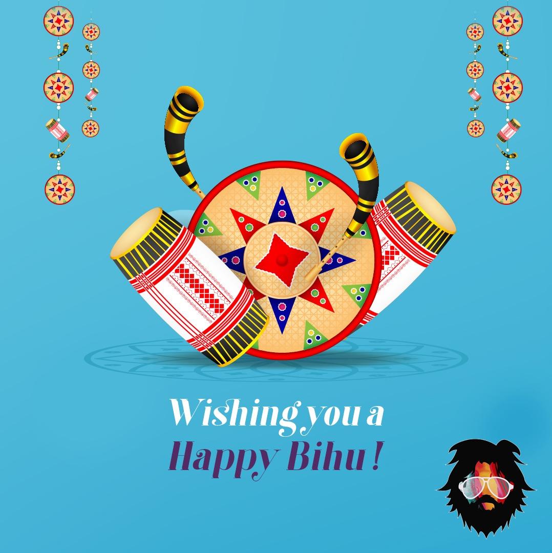 ভোগালী বিহুৰ আন্তৰিক শুভেচ্ছা জনালো  Wishing you all a prosperous and a blessed Bihu! Happy Magh #Bihu2021 !