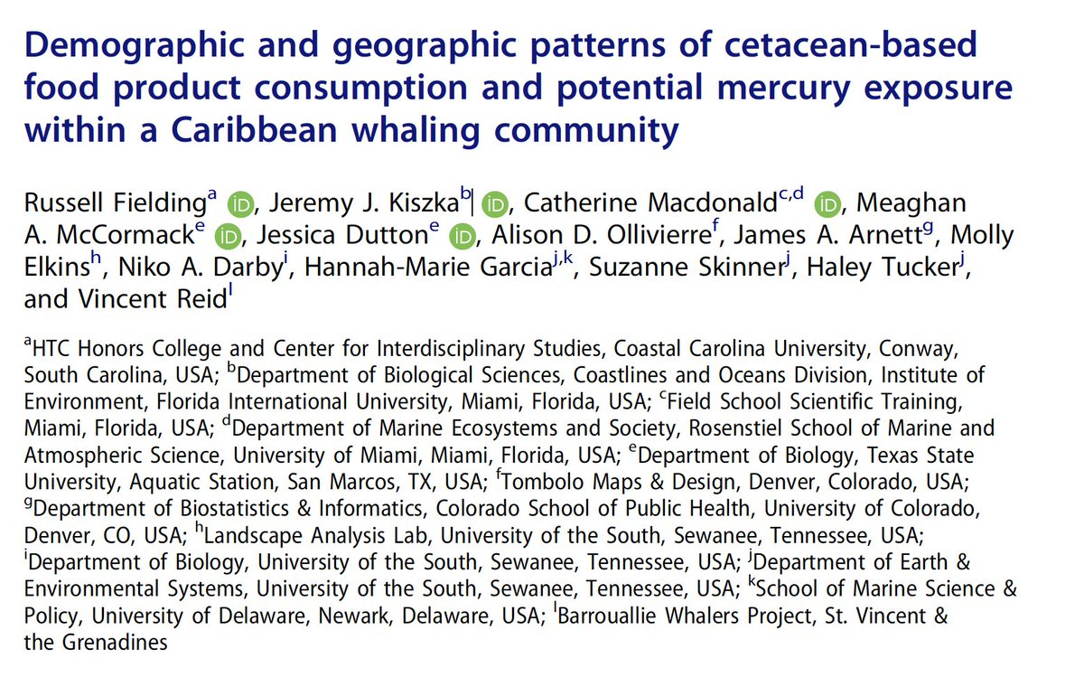 New collaborative paper involving our lab! Thanks to the amazing students and colleagues for their work on this sensitive issue
