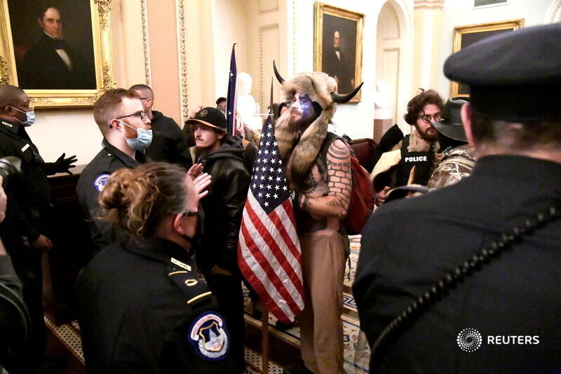 As authorities begin to charge the Capitol rioters, court documents paint a picture of a diverse mob that included citizens with mainstream careers - police officers, a flower shop owner, a state lawmaker, military veterans, even an Olympic medalist