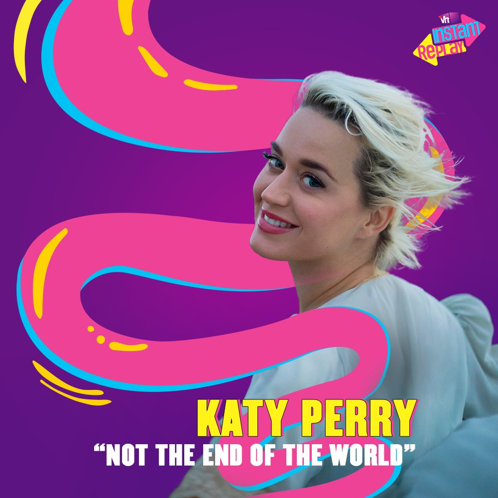 You're gonna hear her roar, this time from outer space!🛸 Catch @katyperry's new cosmic single 'Not The End Of The World', only on #Vh1InstantReplay.   #Vh1India #GetWithIt