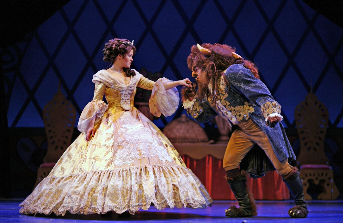 #OTD in 2002 @BroadwayGR opened with the first night of Beauty and the Beast the Musical on the #DeVosHall stage!   Did you see one of the 8 performances? 🌹