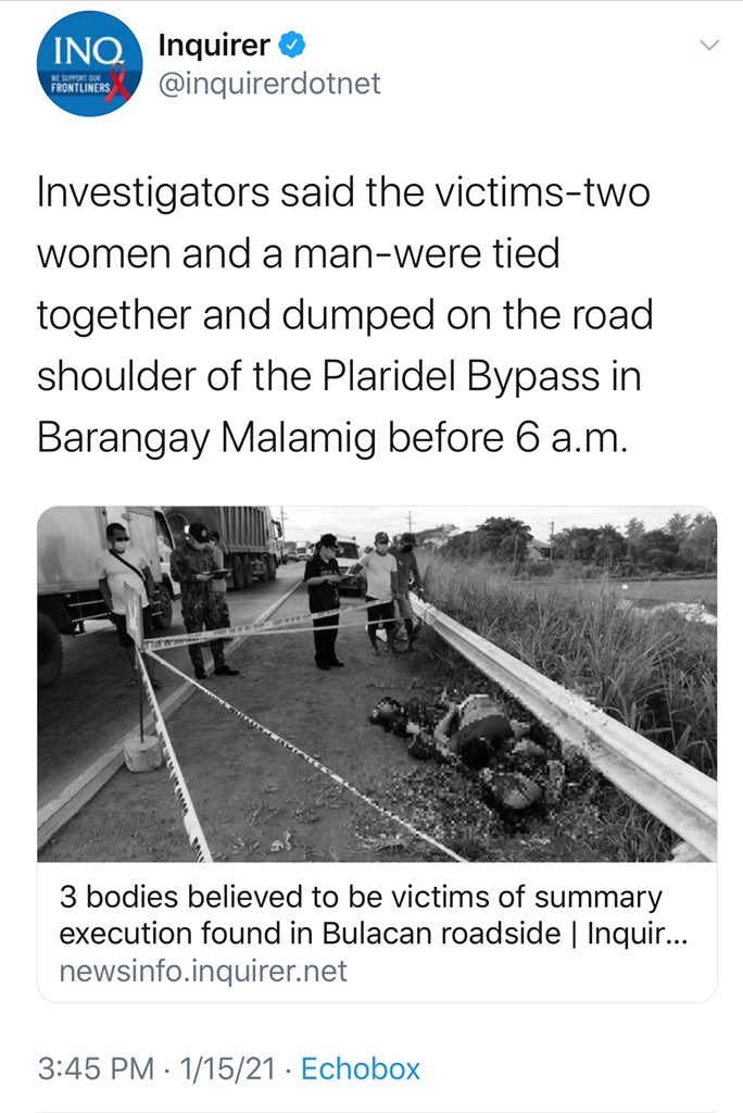 Suddenly Philippines is not safe for anyone...  #StopTheKillingsPH