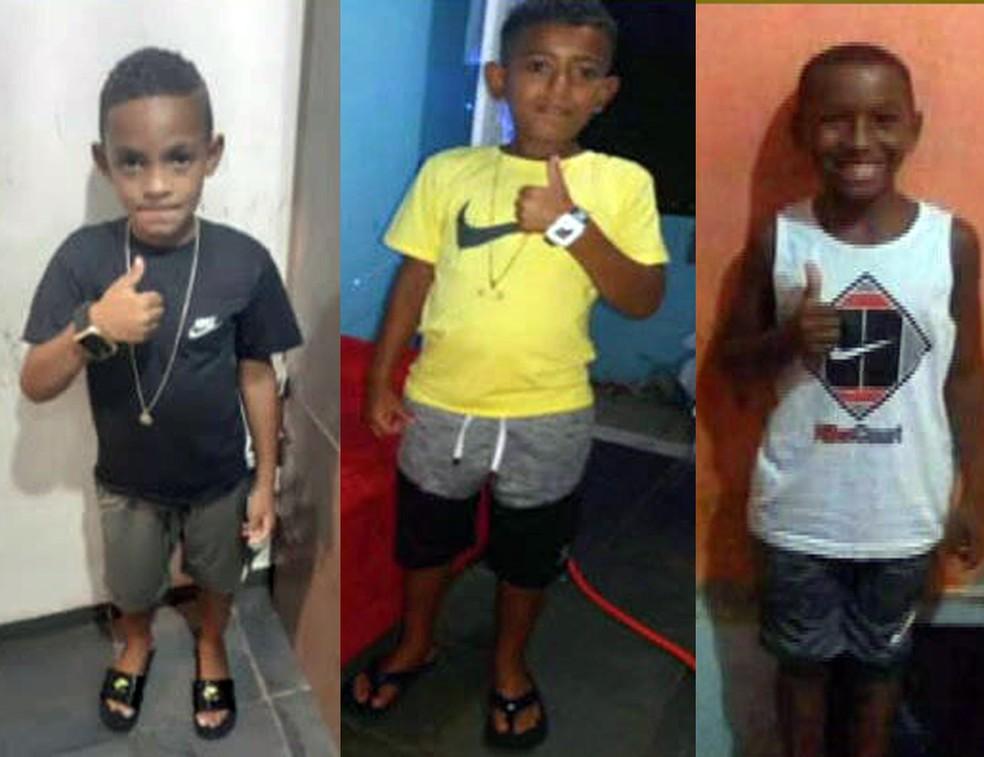 Polícia faz operação em Belford Roxo para encontrar culpados pelo desaparecimento dos 3 meninos  #G1