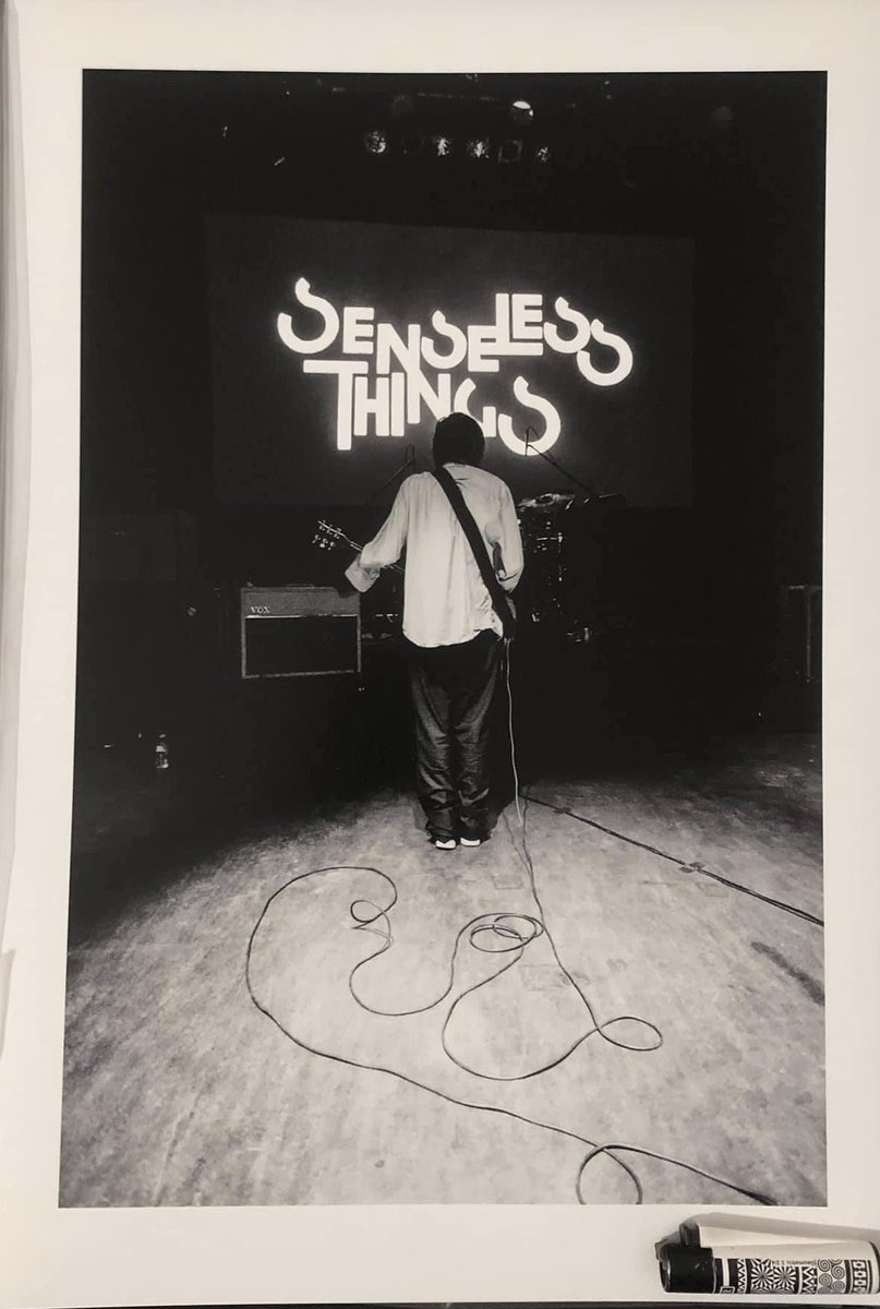 """#discorescue @therealboon  @therealmrsboon Can I put in an early request for """"Easy To Smile"""" by Senseless Things after the passing of singer Mark Keds this week. Thankfully got to see them again at both of their reunion shows in 2017. RIP KEDS x https://t.co/51F4lHLarP"""