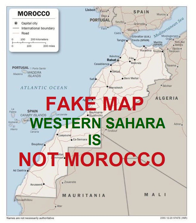 @SZunes #TrumpIsACriminal & #MoroccoIsCORRUPT On what authority has #TRUMP the power to award sovereignty of #Westernsahara to #Morocco? #Westernsahara is ILLEGALLY #OCCUPIED by #morocco.  #Morocco's #CONFABULATIONS (fabricated, misinterpreted,or distorted information) are legendary.