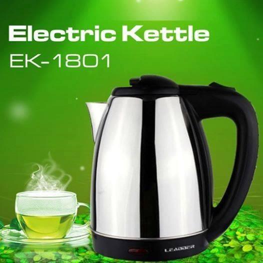 ➡️LEADDER ELECTRIC KETTLE ✅✅Capacity: 1.8L ✅✅Separate Base, Built-in Filter 🛒@ only ksh 999 SHOP HERE> #FridayMotivation