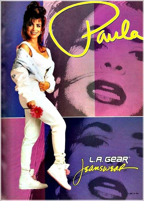 Paula Abdul ! ....I straight up need to get some LA Gear sneakers!  #LAGear 👟  #PaulaAbdul #Vintage @LAGear