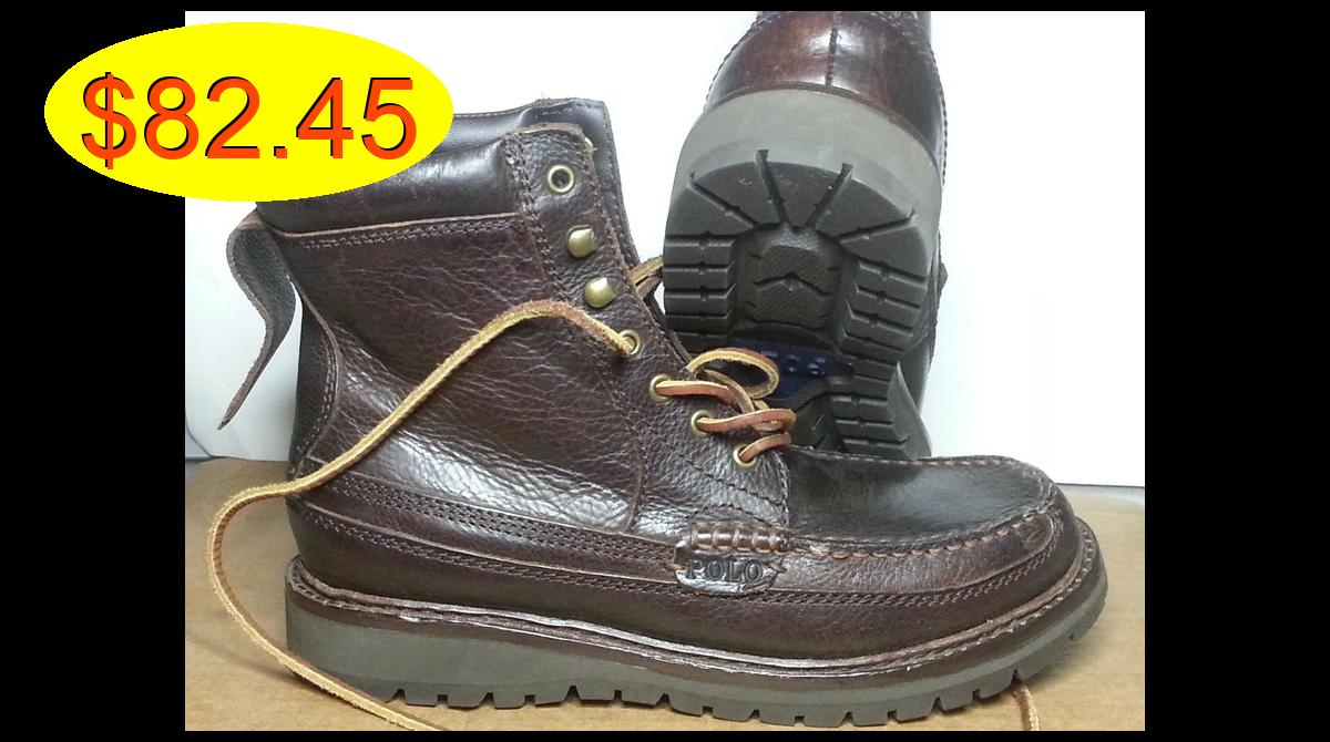 #POLO Ralph Lauren Men Size 7 D Brown #leather #bo