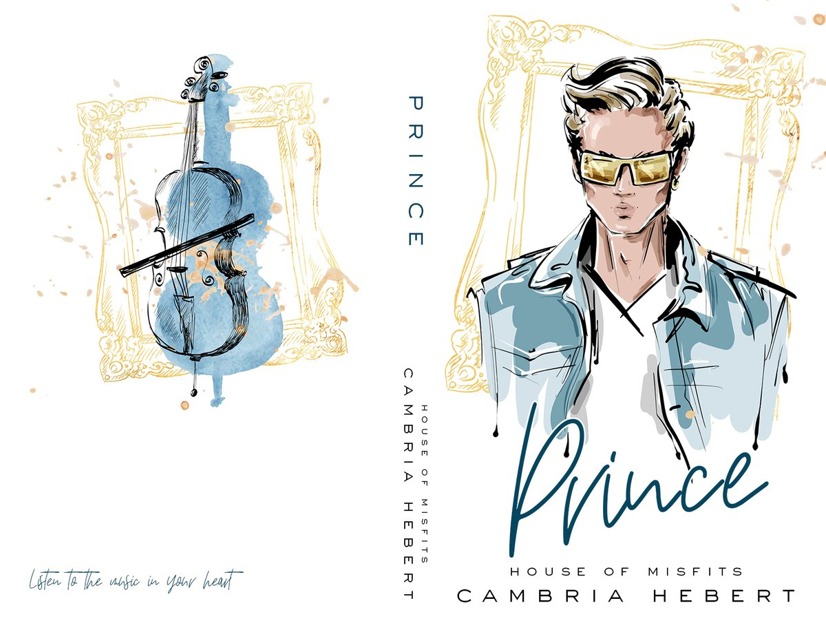 It's cover reveal day for Prince by @cambriahebert! I cannot wait for this book! PRINCE (House of Misfits) - a m/m modern fairy tale (can be read as a standalone) Release Date: February 5, 2021 Cover designed by Cover Me Darling  #ComingSoon #MMRomance #CoverReveal