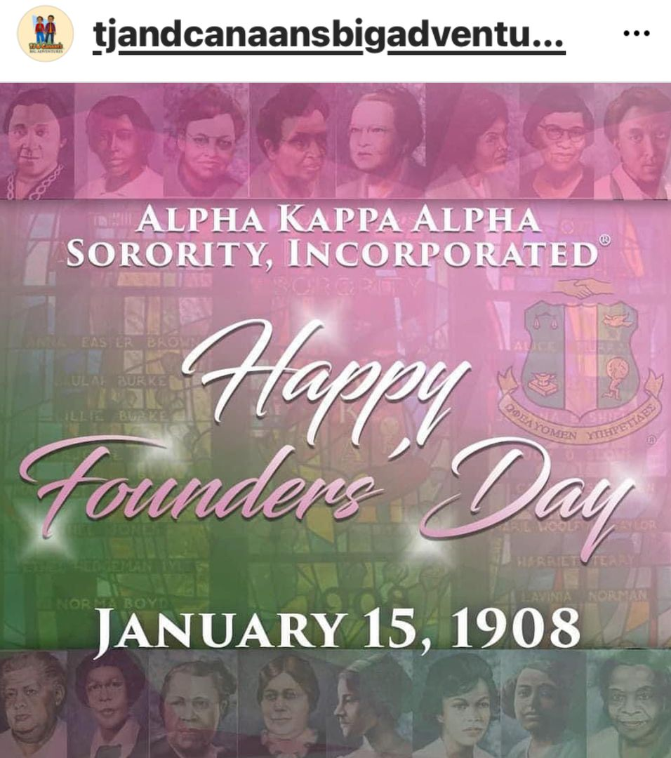 Happy Founders' Day to the Ladies of Alpha Kappa Alpha Sorority, Incorporated! We proudly celebrate 113 years of sisterhood and service, as we pay homage to the Founders' of our illustrious organization. #AKA1908 #AKA113 #AKAFoundersDay