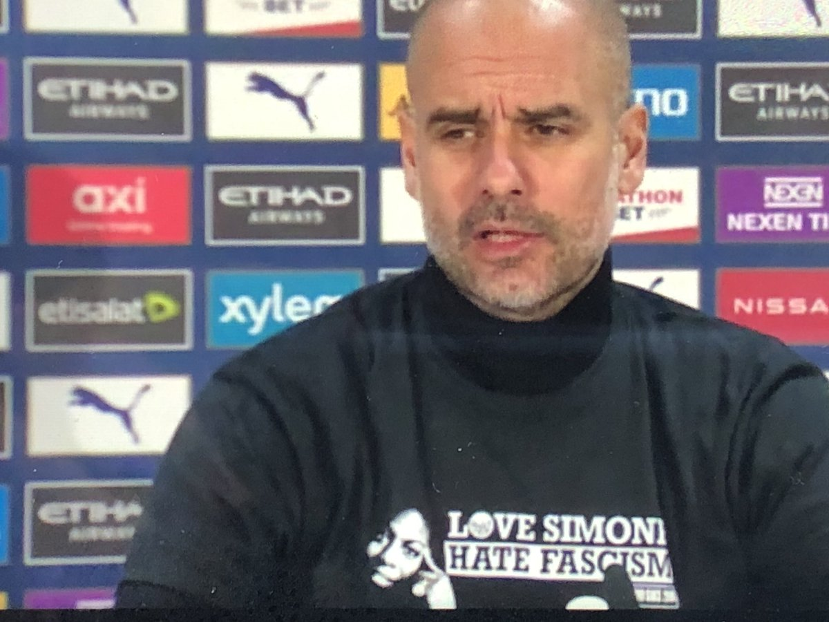Pep: every player has competition, even I have competition if we don't win games. Walker has had competition from Danilo and now Cancelo. I will select the players I think are the best for each game #ManCity