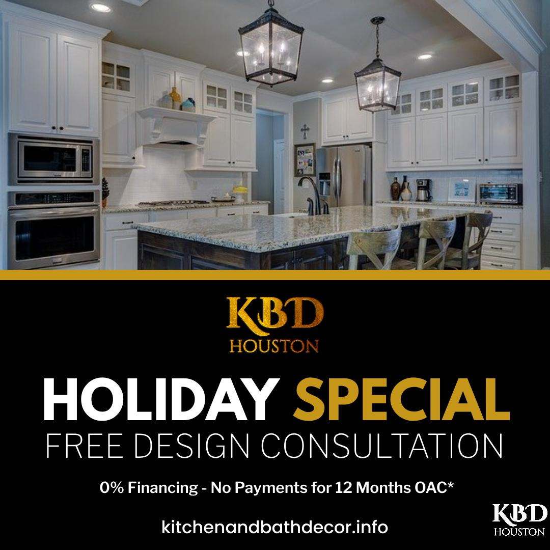 #HappyHolidays from Kitchen and Bath Decor! Didn't get exactly what you wanted for the holidays? Come in and ask about our Free Design Consultation and let us create the kitchen, bath or custom closet you really wanted!