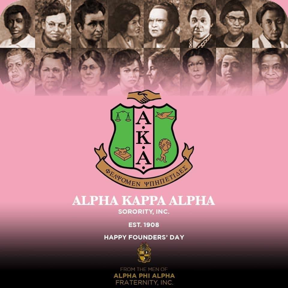 Happiest Founders Day to my PHIne, PHabulous and intelligent sisters of the Alpha Kappa Alpha Sorority Incorporated! You MADE a lady who is now the new Vice President of the United States of America!  Congratulations!  🖤💛💗💚😘  #AKA #PHIRSTPHAM #J15 #Pearls #AKA1908 #Pearls