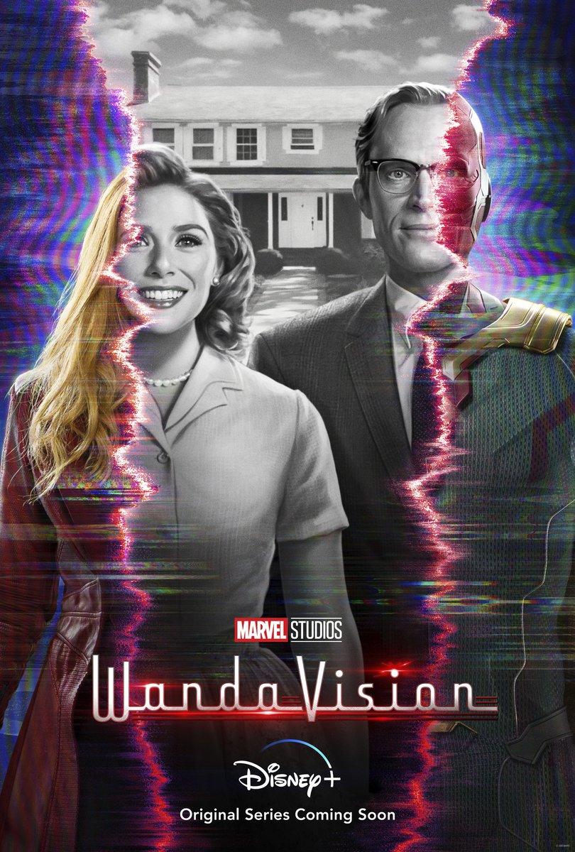 """Review a #Wandavision:  """" 'Wandavision' é uma completa sitcom. Nestes episódios é possível ver muitas referências ao panorama da TV dos anos 60 e também ao UCM. Wandavision começa com o pé direito nesta nova fase da Marvel e promete trazer muitas mais surpresas do que já vimos"""""""