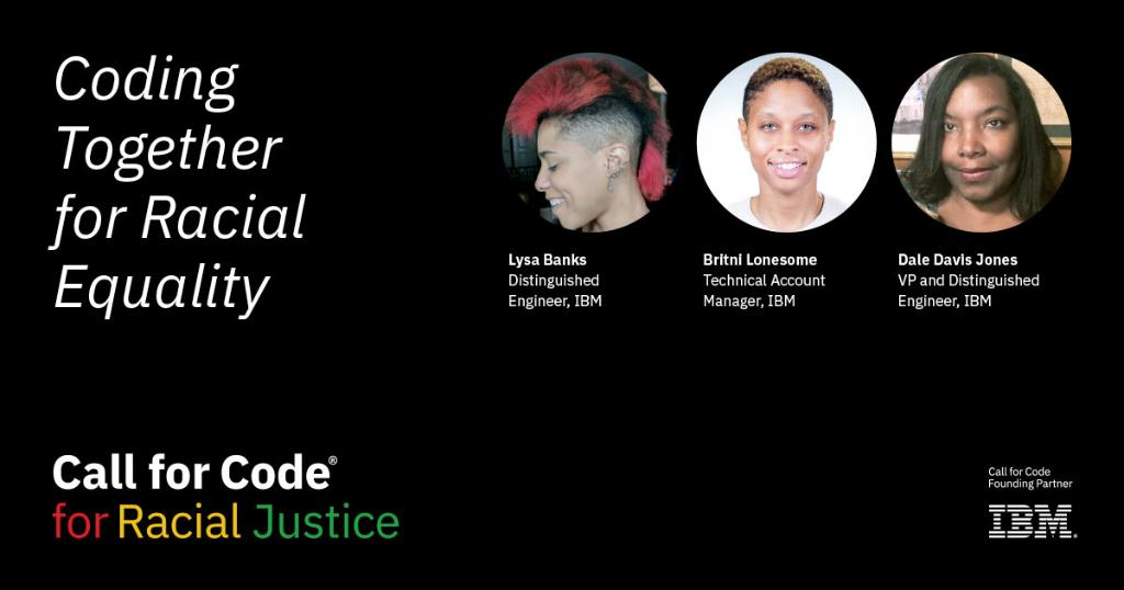 In observance of #MLK Day, we urge you to take a stand and apply your skills and ingenuity to make a positive societal difference. Listen to members of the IBM Black community talk about #CallforCodeforRacialJustice, and learn how you can contribute today: