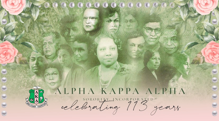 Happy 113th Founders' Day to the Ladies of THE Alpha Kappa Alpha Sorority, Incorporated! Today we celebrate our dedication to sisterhood and service to ALL mankind! #PEOSTRONG #AKA1908