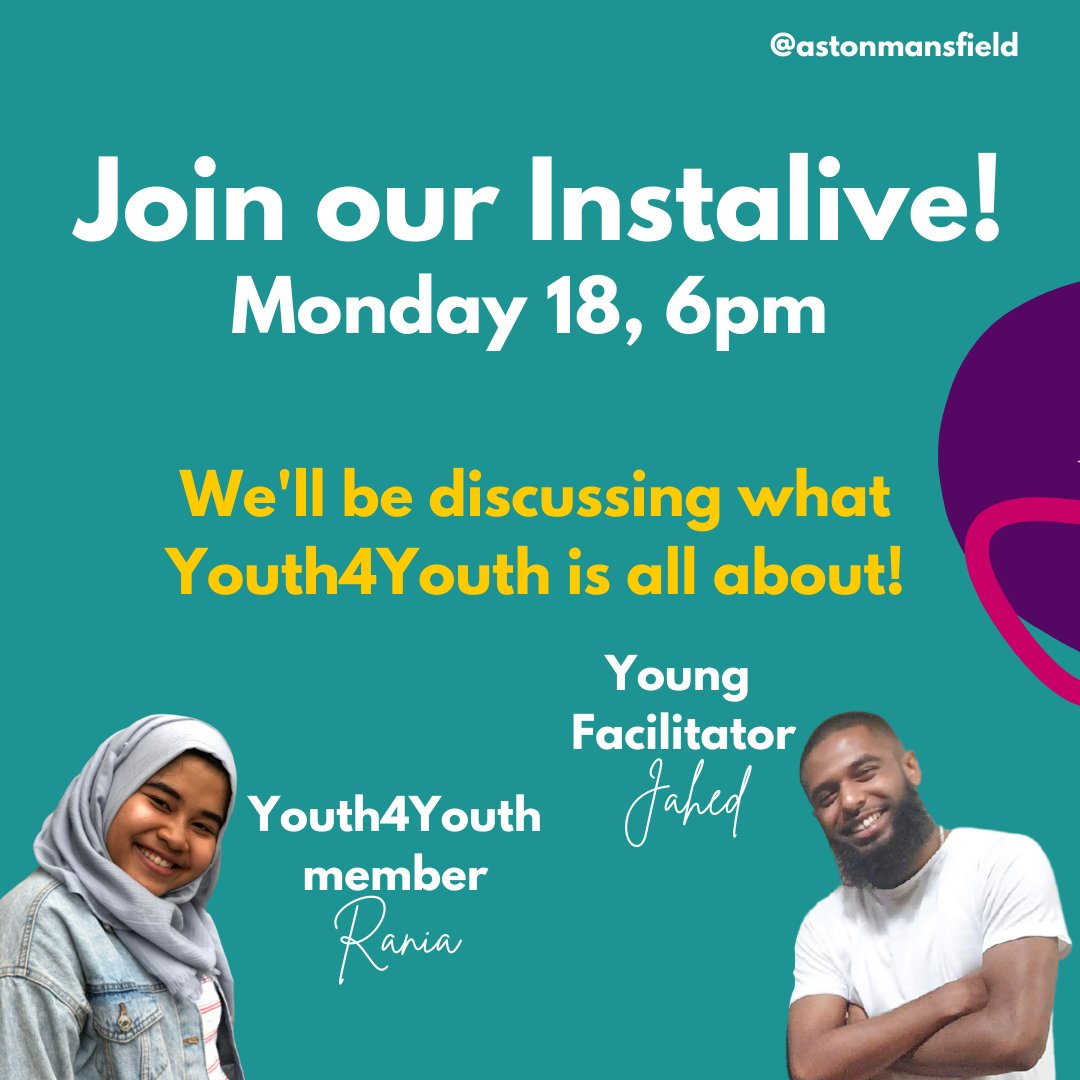 We are excited to do an instalive talking about what Youth4Youth is all about! If you've got any questions, drop them below or you can ask during the live. See you then!  #instalive #live #instagram #instagood #music #love #instamusic #instalike #like #instagramlive #instadaily