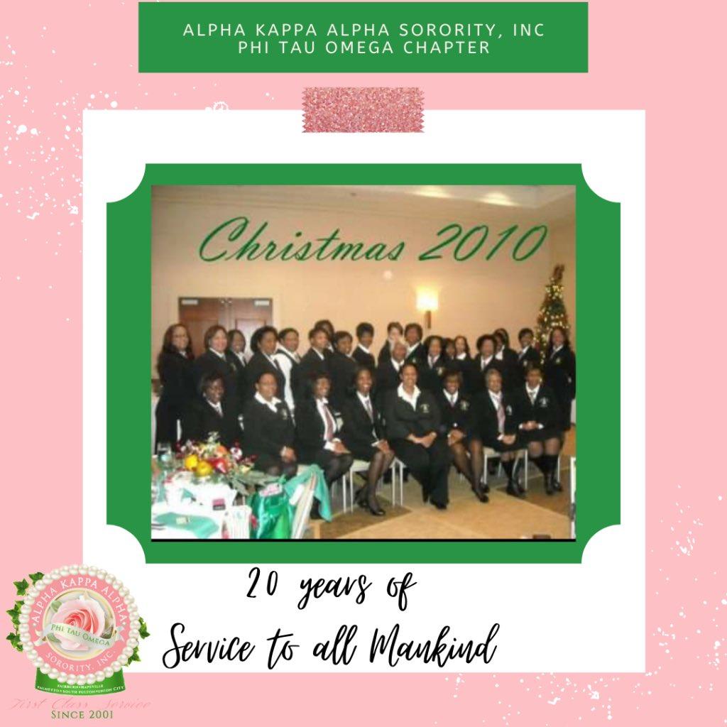 "🌸💚 Through the Years🌸💚 Celebrating 20 years of ""First Class"" Service to all Mankind!  #AKA1908 #AKAPTO #AKAΦΤΩ #PhiTauOmega #CharterDayLoading #HostChapter #Countdown"