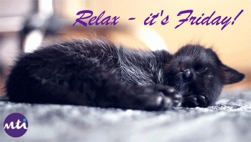 MTI therapists may not be able to offer you a hands on treatment to relax right now, but they can offer you tips to try at home and online consultations if you need help to relax. Or just look at this picture of a sleeping kitten.... 😁  #FridayFeeling